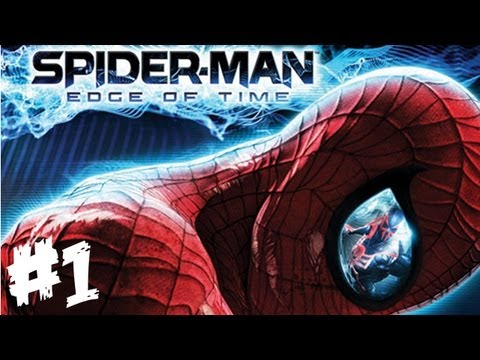 Spider-Man: Edge of Time Walkthrough Part 1 - Let's Play (Xbox 360/PS3 Gameplay)