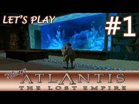 [Let's Play] Disney's Atlantis: The Lost Empire (PS1) - 100% - Part 1 -