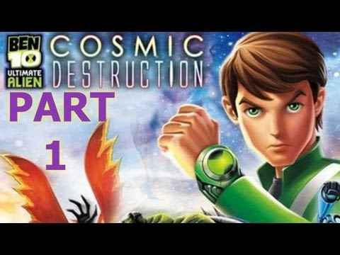 Ben 10: Ultimate Alien Cosmic Destruction HD [Xbox360] Walkthrough Part 1
