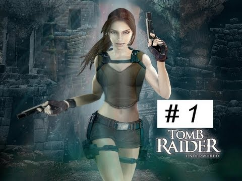 Tomb Raider Underworld gameplay Full Game walkthrough part 1 XBOX 360 PS 3 PC