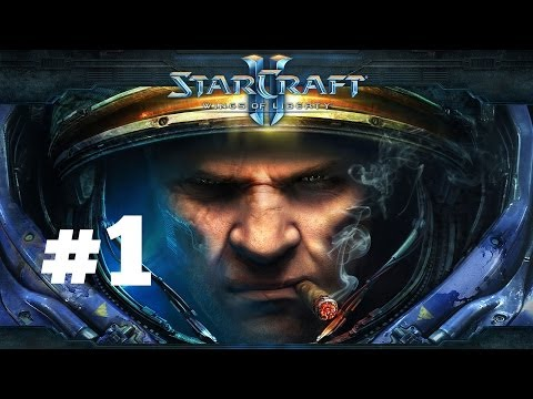 StarCraft 2 - День Независимости - Часть 1 - Эксперт - Прохождение Кампании Wings of Liberty