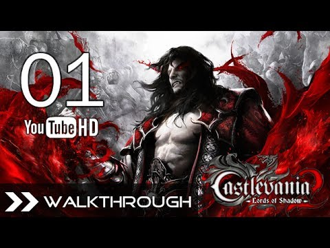 Castlevania Lords of Shadow 2 Walkthrough Gameplay - Part 1 (Castle Siege - Golden Paladin Boss Battle) HD 1080p PC PS3 Xbox 360 No Commentary