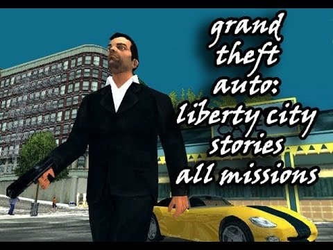 GTA: Liberty City Stories - All Missions - Full Walkthrough (PS2)