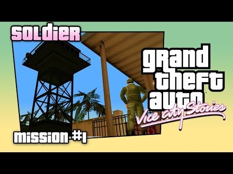 GTA: Vice City Stories #1: Soldier. Прохождение