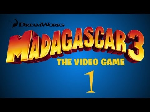 Madagascar 3: The Video Game Walkthrough Part 1 (Countryside: Mission 1)