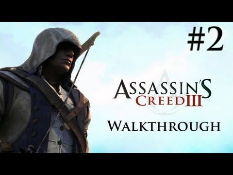 Assassin's Creed 3 - Walkthrough/Gameplay - Part 2 [Sequence 1] (XBOX 360/PS3/PC)
