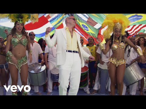 Pitbull feat J.Lo and Claudia Leitte - We Are One (гимн ЧМ-2014)