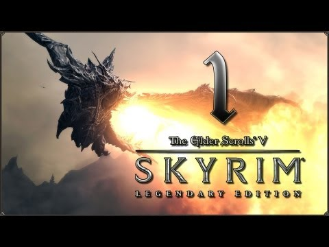 Прохождение TES V: Skyrim - Legendary Edition — #1: Jo'Rad