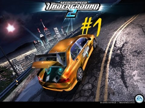 Прохождение Need for speed Underground 2. #1 [2004]
