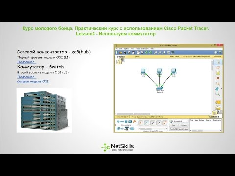 Видео уроки Cisco Packet Tracer. Курс молодого бойца. Урок 3