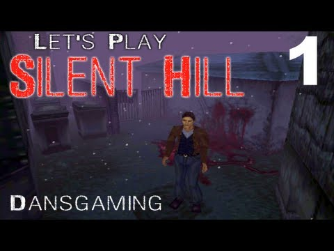 Silent Hill 1 Walkthrough - Part 1 - Let's Play with Dan - Playstation 1 Gameplay - PS1 HD