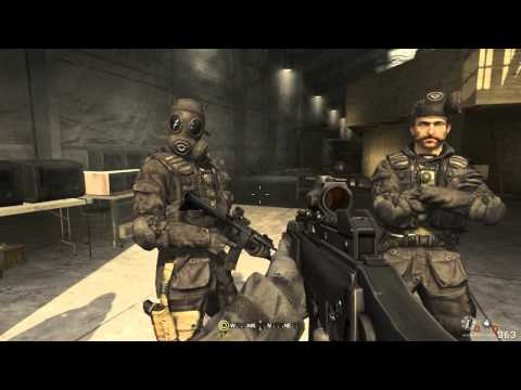 Call of Duty 4 Modern Warfare Walkthrough Part 1 - Level 1