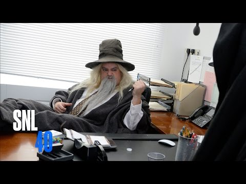 Hobbit Office - Saturday Night Live