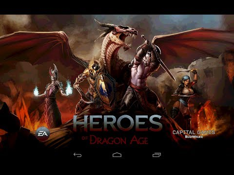 Heroes of Dragon Age - Герои эры дракона на Android ( Review)
