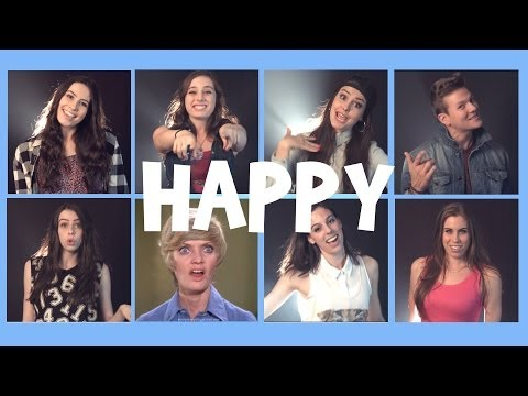 Cimorelli & Tyler Ward - Happy (Pharrell Williams cover)