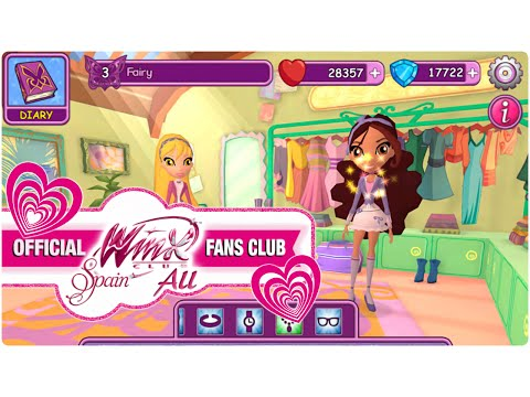 Winx Fairy School Game
