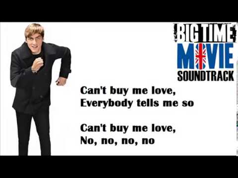 Big Time Rush - Can't buy me love