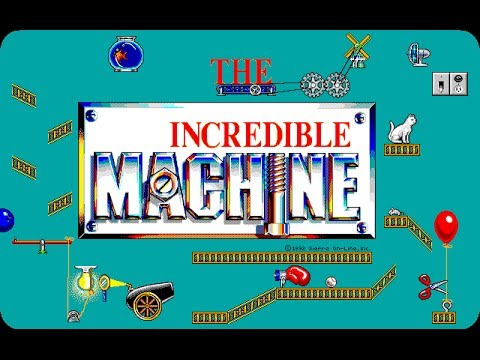 The Incredible Machine [Tim 1] 1993 - MS-DOS Old-School Gameplay Review [History of Games]