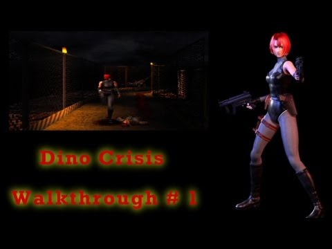 Dino Crisis HD Walkthrough \ Let's Play - PS1 Part 1 - Intro! Dinosaurs meet Resident Evil!